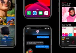 Dark mode brings a beautiful look for iPhones. hmm…so pretty.