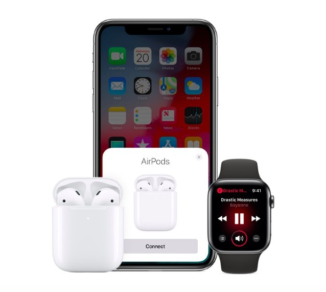 Connect AirPods 2 to all your Apple devices become so easy!