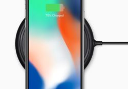 The iPhone X also supports Qi wireless charging.
