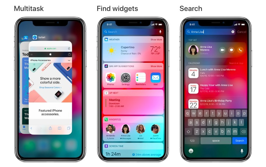 Use gestures to navigate your iPhone X and later